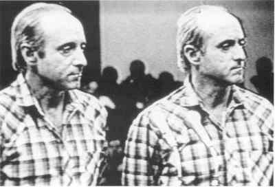 Близнецы Тони (справа) и Патрицио де ла Гуардия перед трибуналом в Гаване